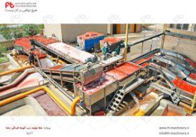 پروژه خط تولید رب گوجه فرنگی رعنا