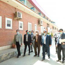 بازدید وزارت صنعت و معدن از کارخانه ماشین سازی نامجو