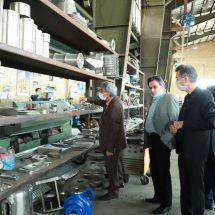 بازدید از کارخانه ماشین سازی نامجو