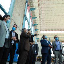 بازدید رئیس سازمان صنعت، معدن و تجارت خراسان رضوی از گروه پیشگامان ماشین سازی نامجو
